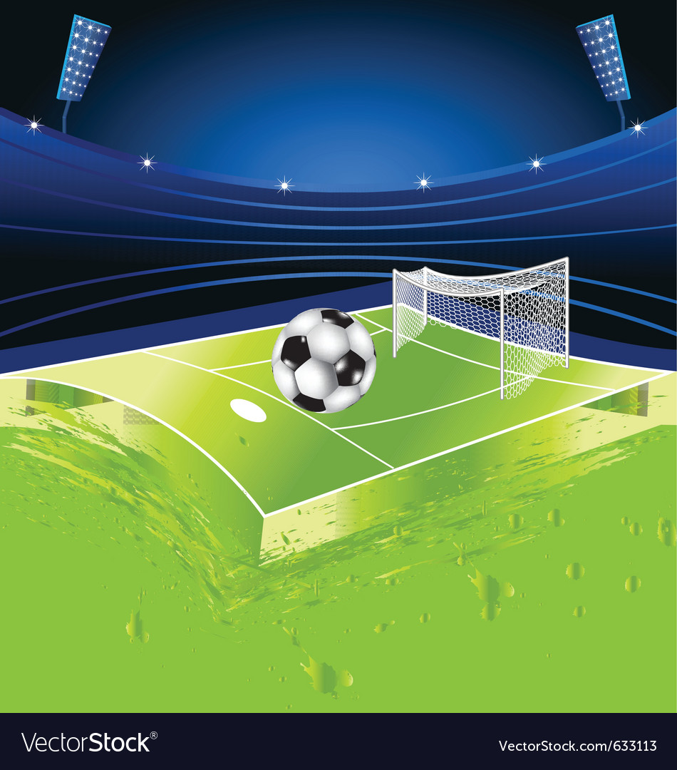 Football sport stadium vector | Price: 1 Credit (USD $1)