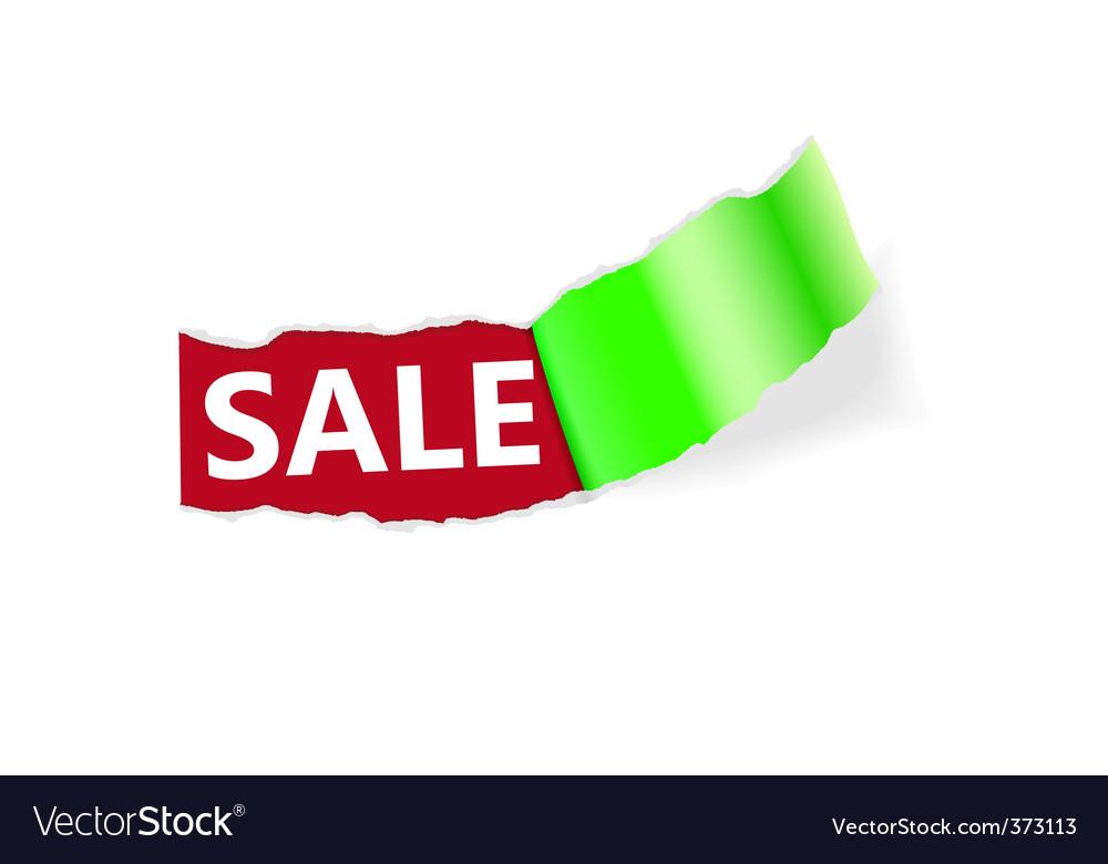 Sale page corner vector | Price: 1 Credit (USD $1)