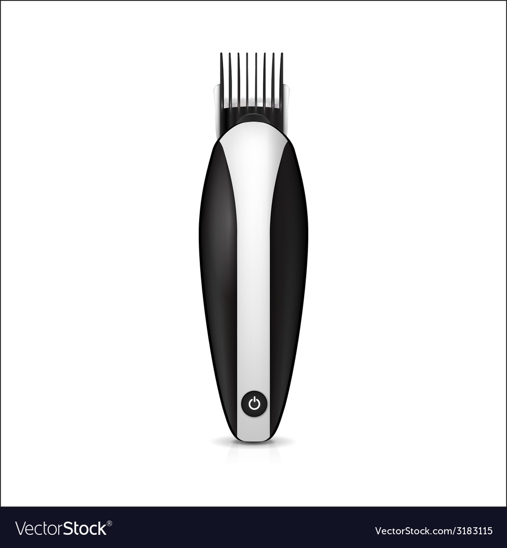 Black electric clipper vector | Price: 1 Credit (USD $1)