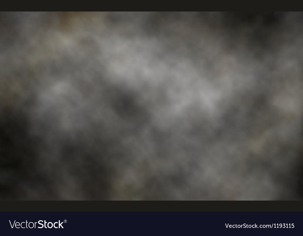Dark smoke background vector