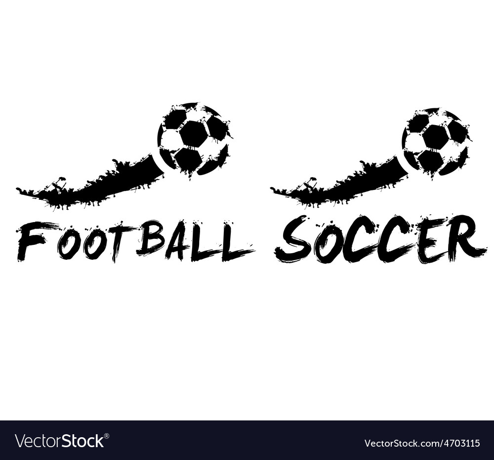 Football and soccer vector   Price: 1 Credit (USD $1)