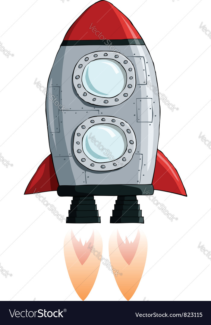 Rocket vector | Price: 3 Credit (USD $3)