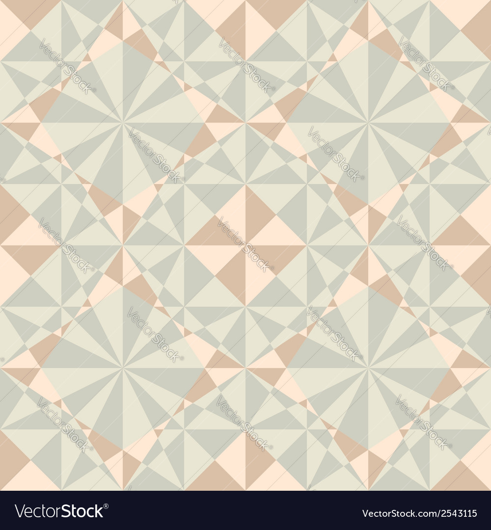 Seamless geometric pattern in pastel colors vector | Price: 1 Credit (USD $1)