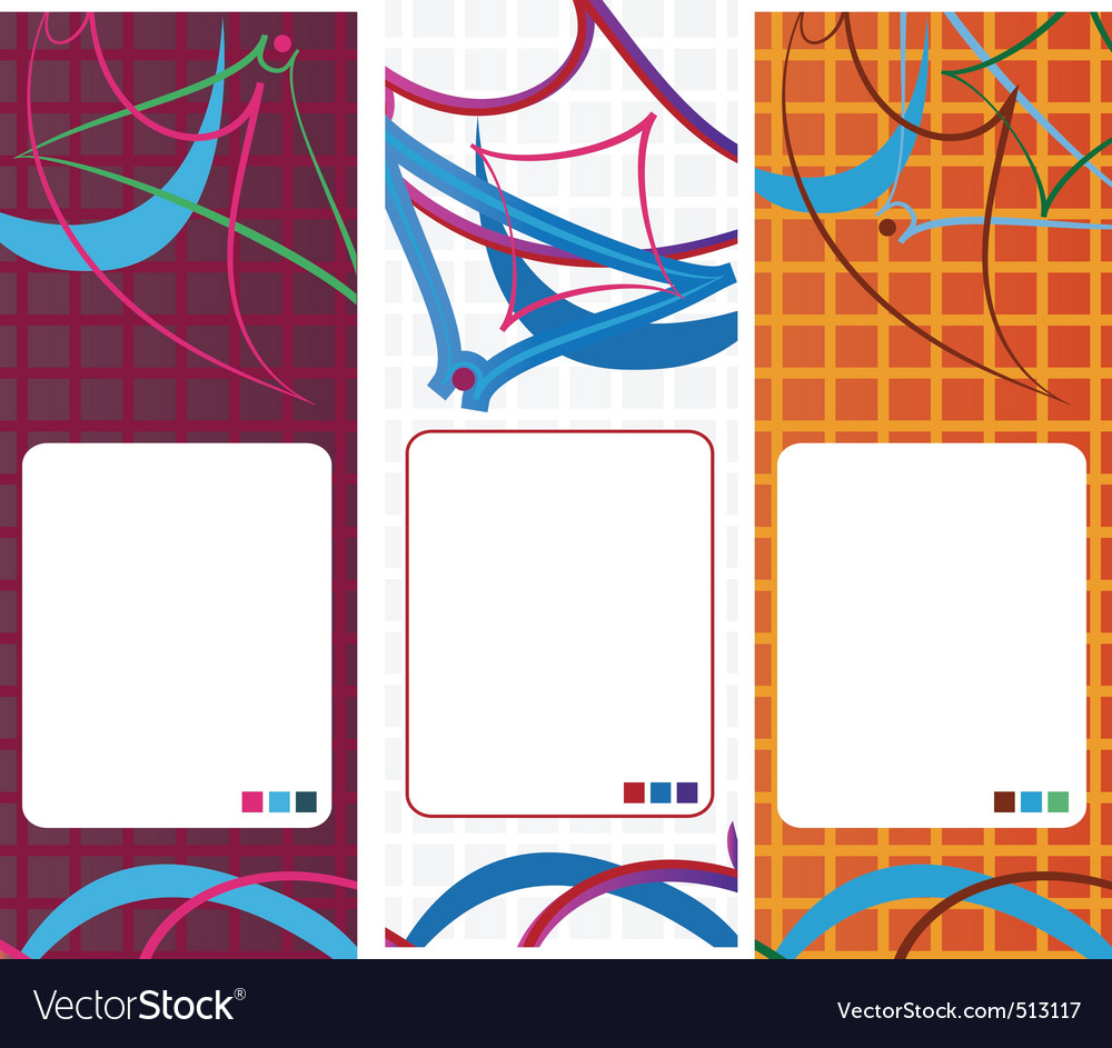Geometric banner vector | Price: 1 Credit (USD $1)