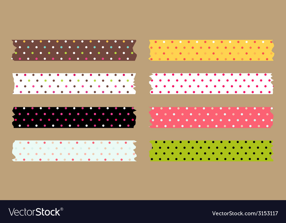 Masking tape set vector | Price: 1 Credit (USD $1)