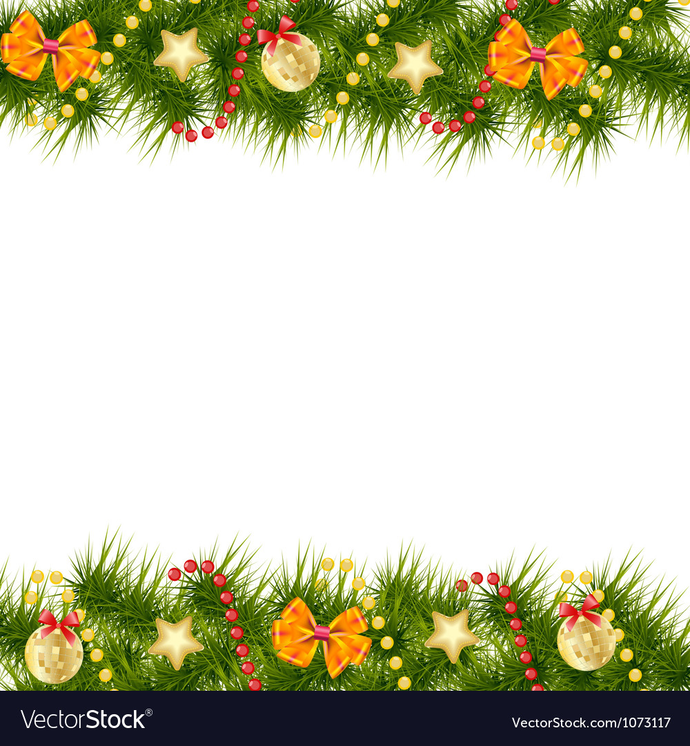 Merry christmas card template vector