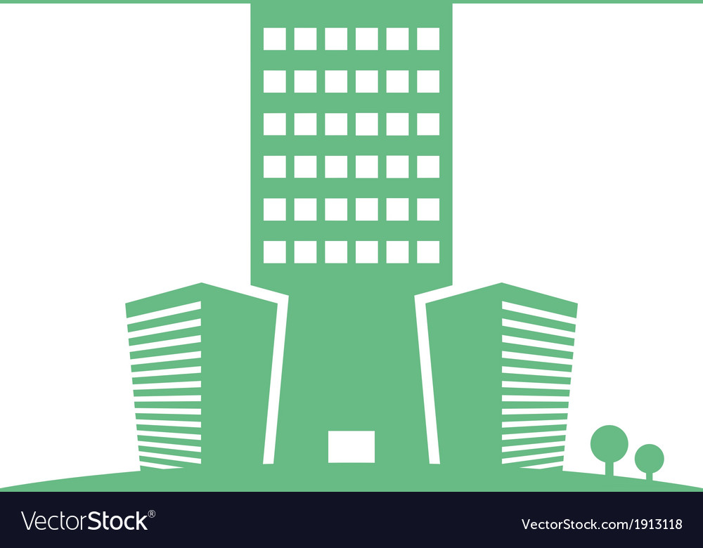 Eco buildings 05 01 vector | Price: 1 Credit (USD $1)
