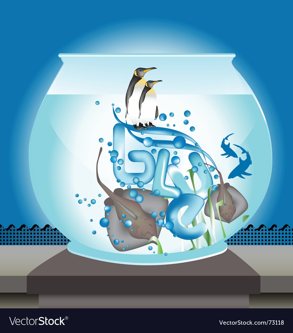 Fishbowl vector | Price: 3 Credit (USD $3)