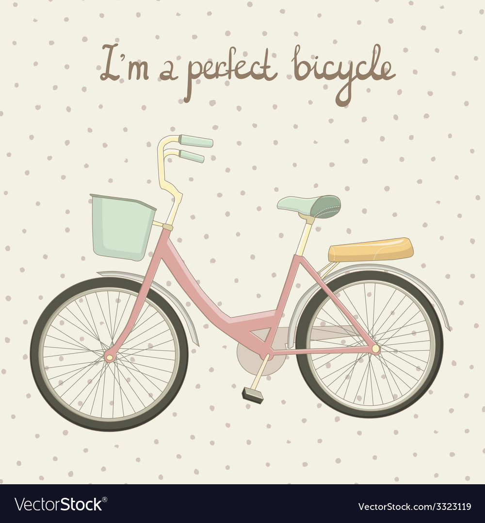 Byciclepink1 vector | Price: 1 Credit (USD $1)