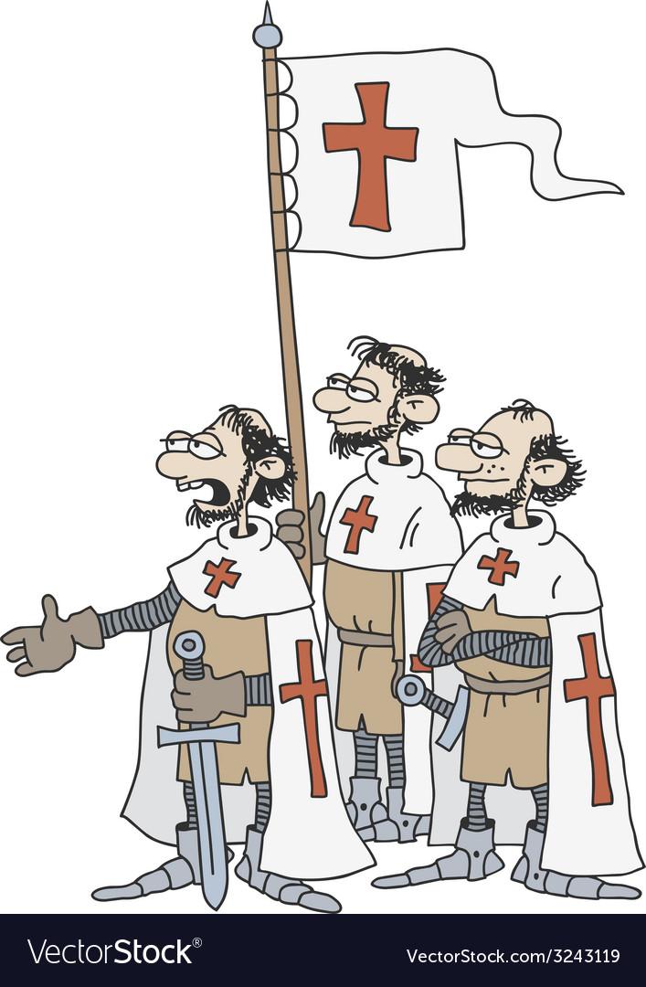 Crusaders vector | Price: 1 Credit (USD $1)