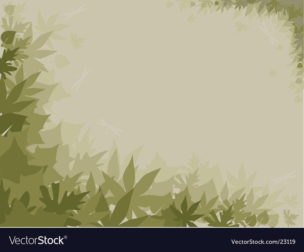 Green fog vector | Price: 1 Credit (USD $1)