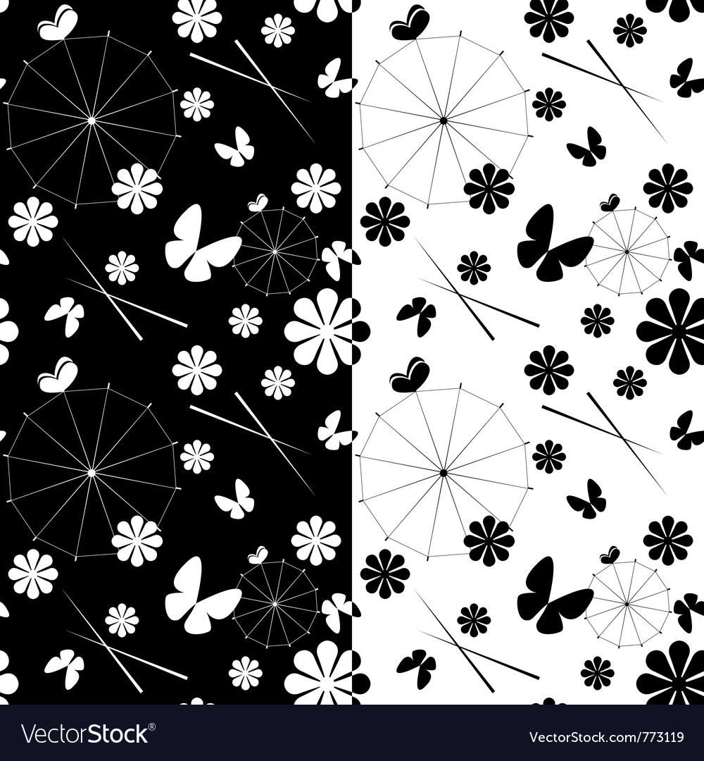 Seamless jaran parasol pattern vector | Price: 1 Credit (USD $1)