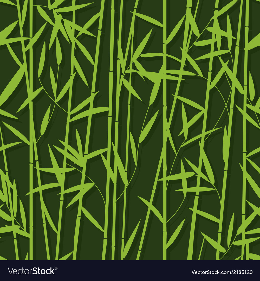 Bamboo pattern seamless vector | Price: 1 Credit (USD $1)