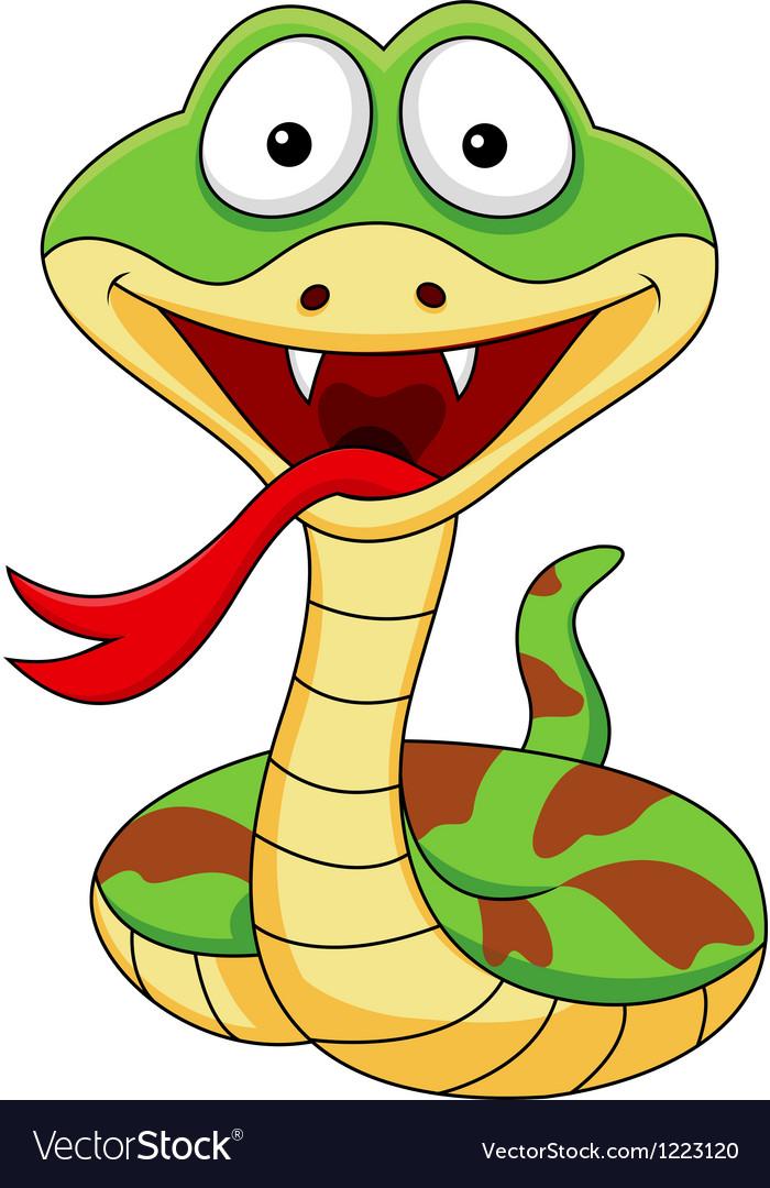 Funny snake cartoon vector   Price: 3 Credit (USD $3)