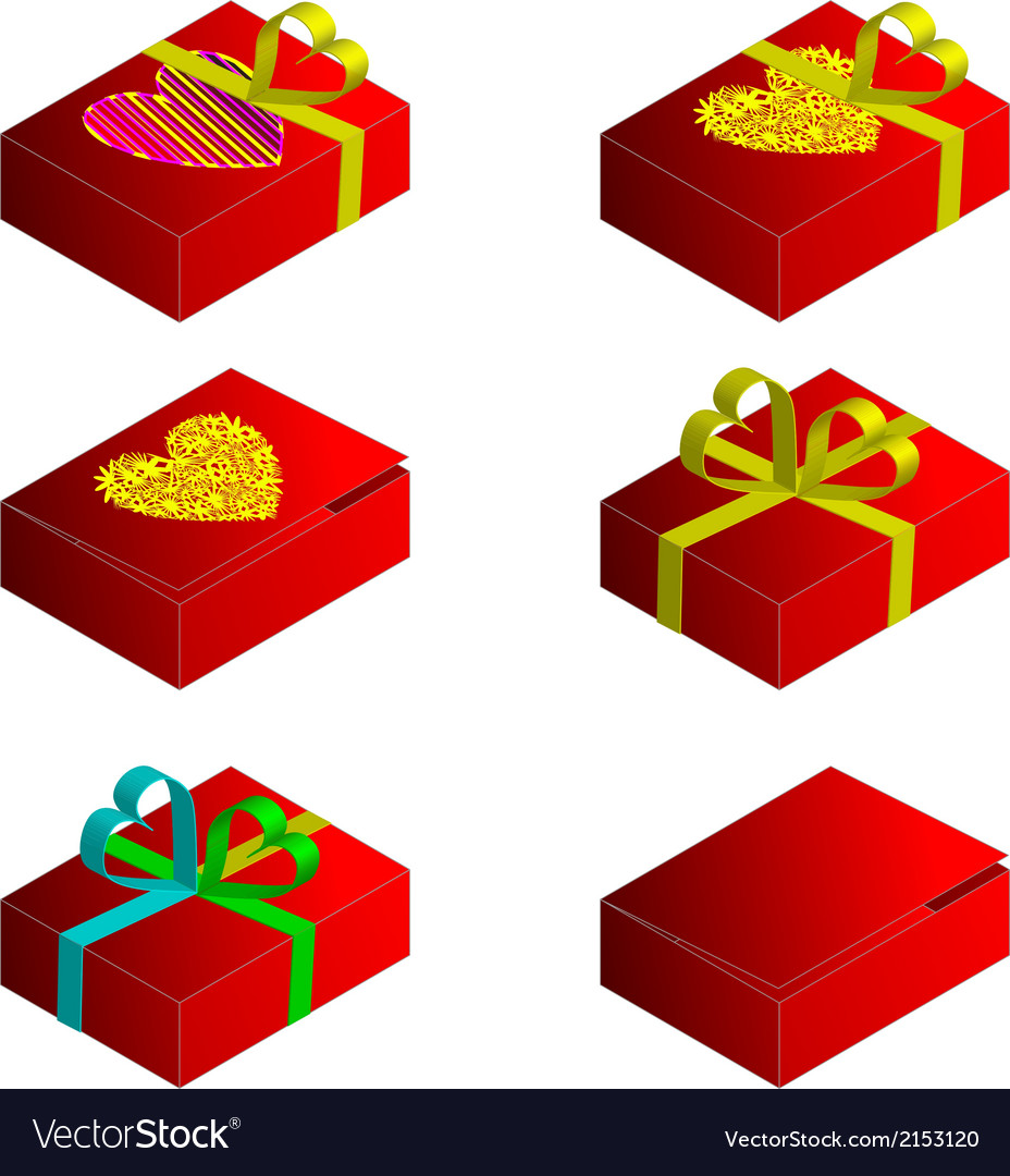 Gift case vector | Price: 1 Credit (USD $1)