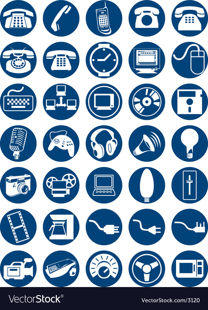 Icons vector | Price: 3 Credit (USD $3)
