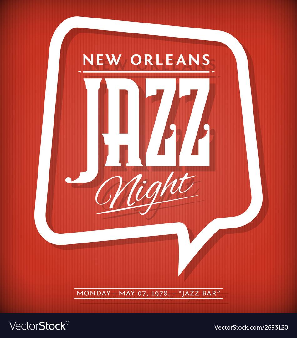 Jazz label vector | Price: 1 Credit (USD $1)