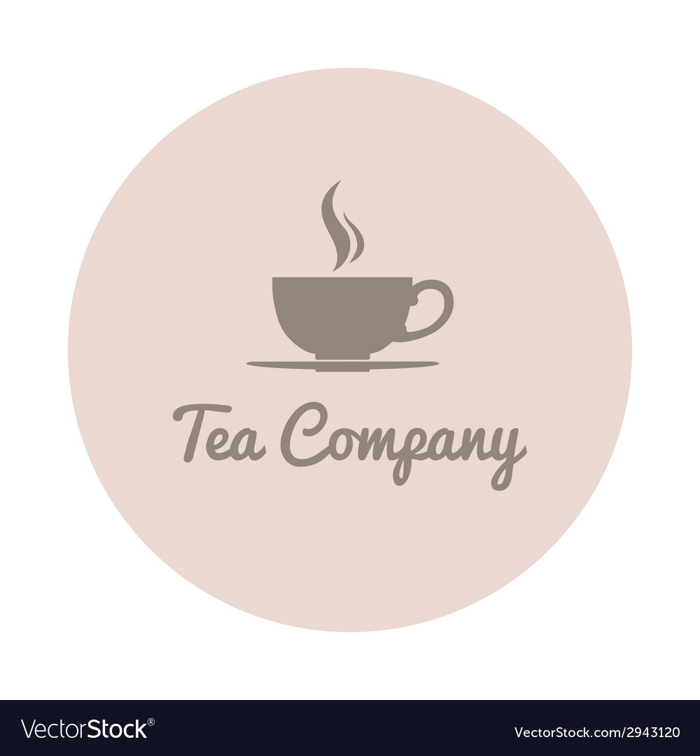 Teacup company logo vector | Price: 1 Credit (USD $1)