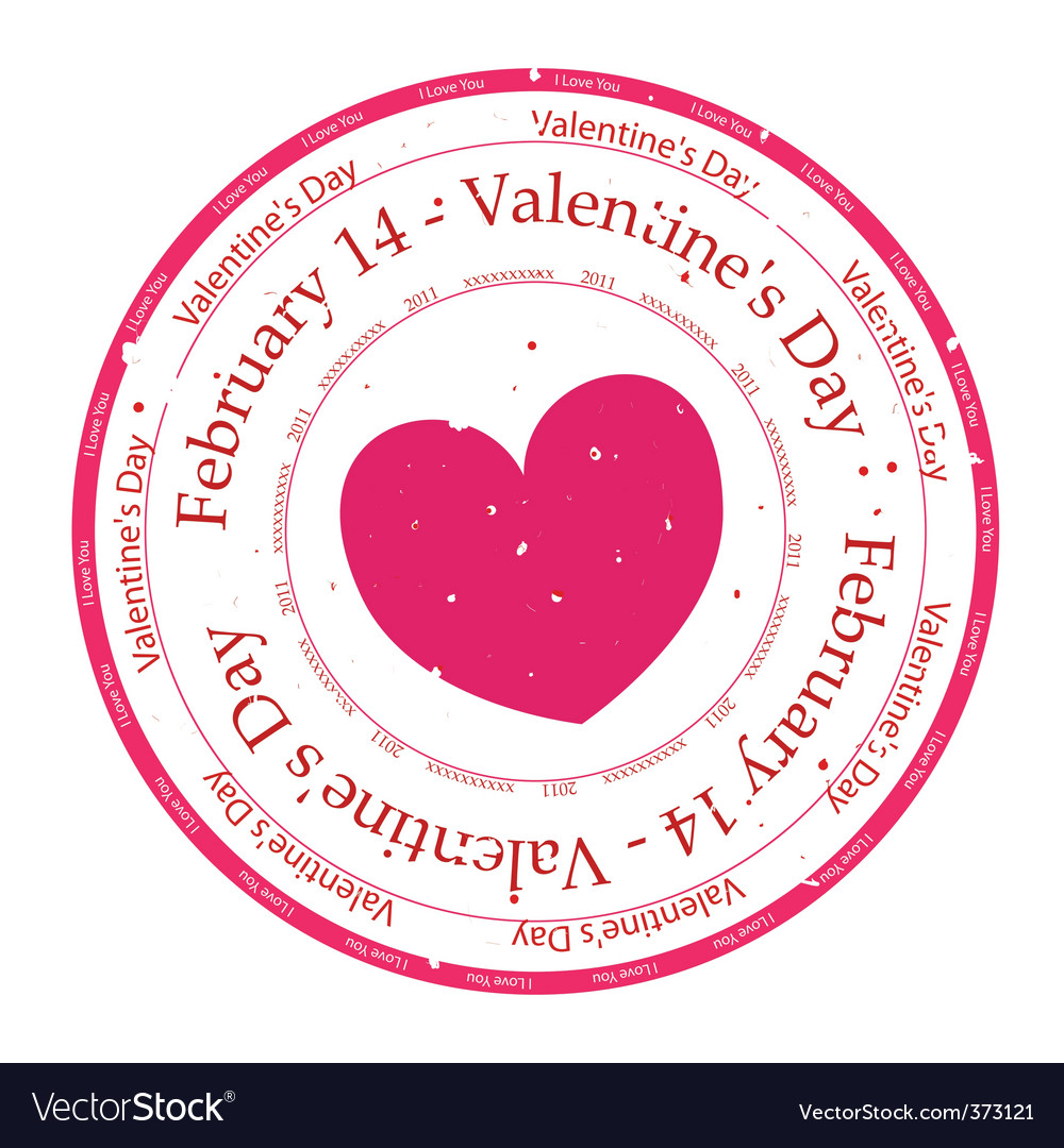 I love you rubber stamp vector   Price: 1 Credit (USD $1)
