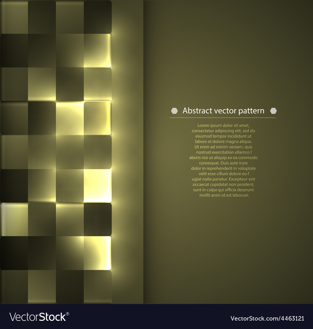 Pattern with backlight illumination vector | Price: 1 Credit (USD $1)