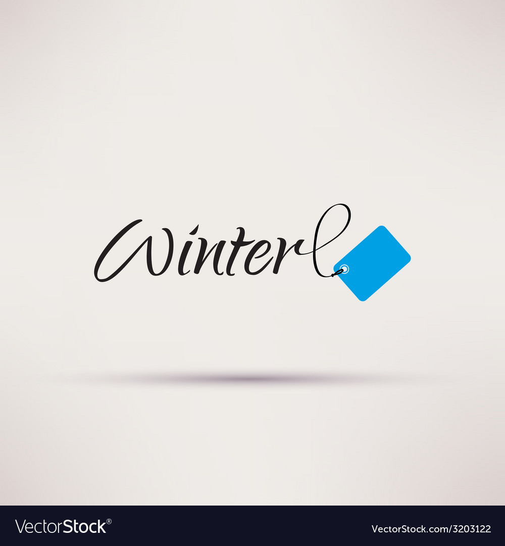 Icon of sale seasonal winter isolated vector | Price: 1 Credit (USD $1)