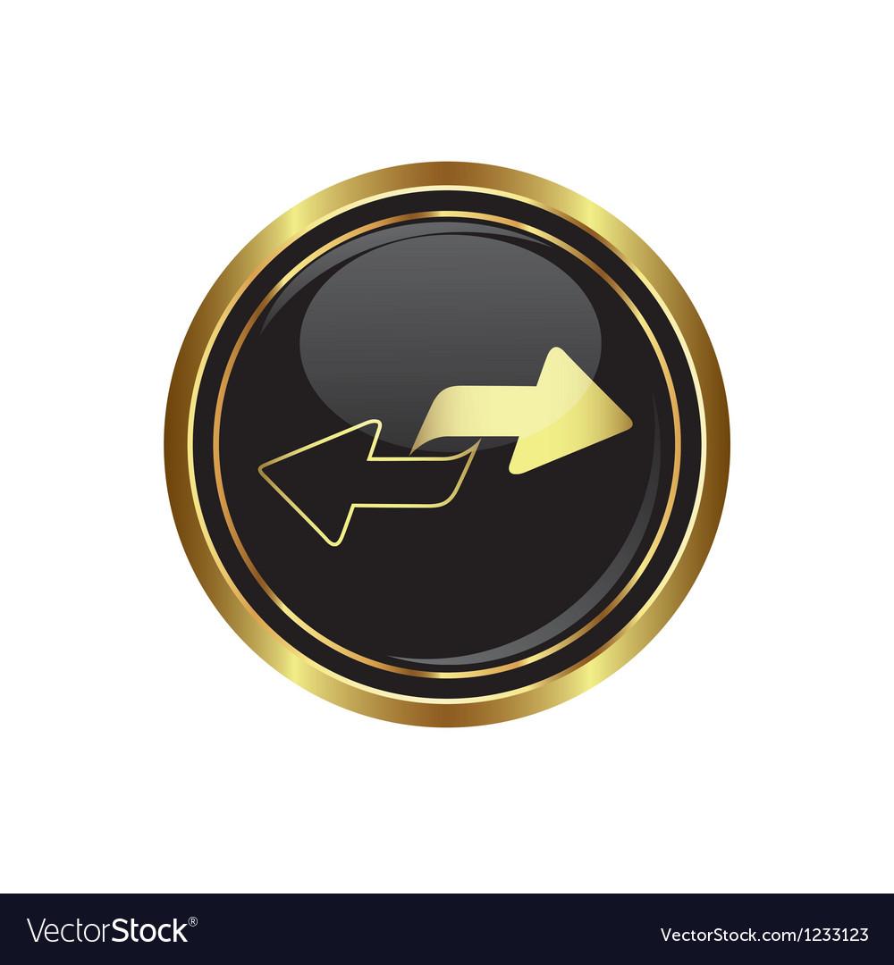 Arrows icon vector | Price: 1 Credit (USD $1)