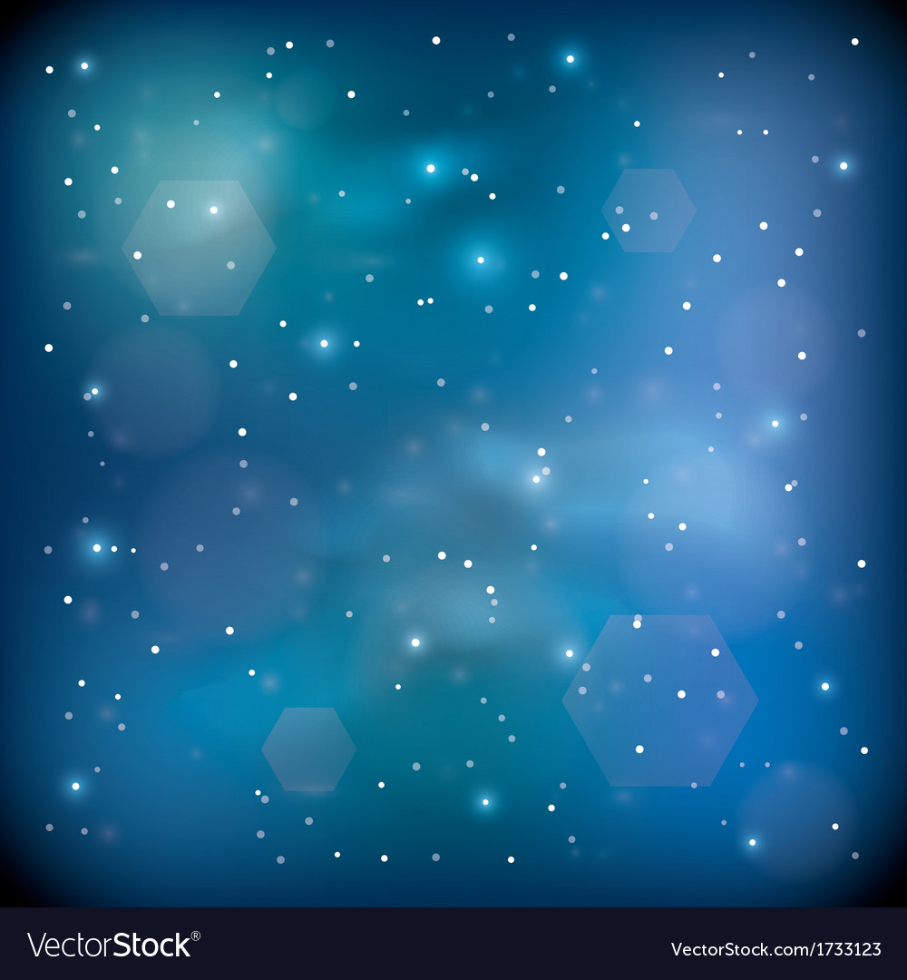Blue space vector | Price: 1 Credit (USD $1)