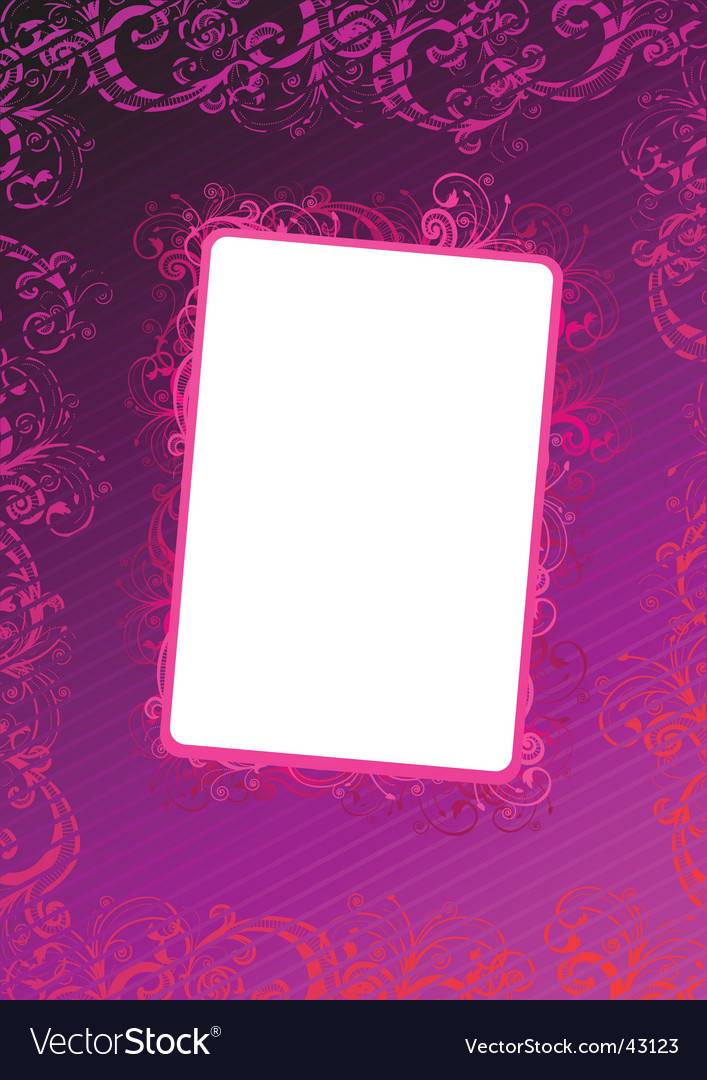 Pink wallpaper vector | Price: 1 Credit (USD $1)