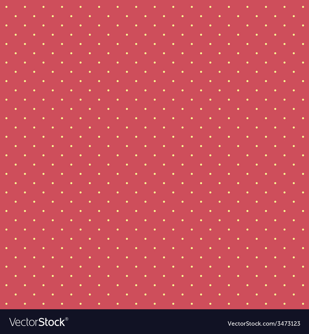 Polka dots seamless pattern background vector | Price: 1 Credit (USD $1)