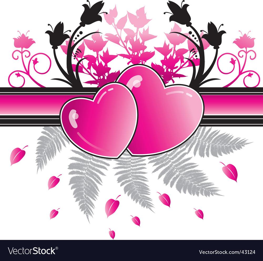 Heart valentine vector | Price: 1 Credit (USD $1)
