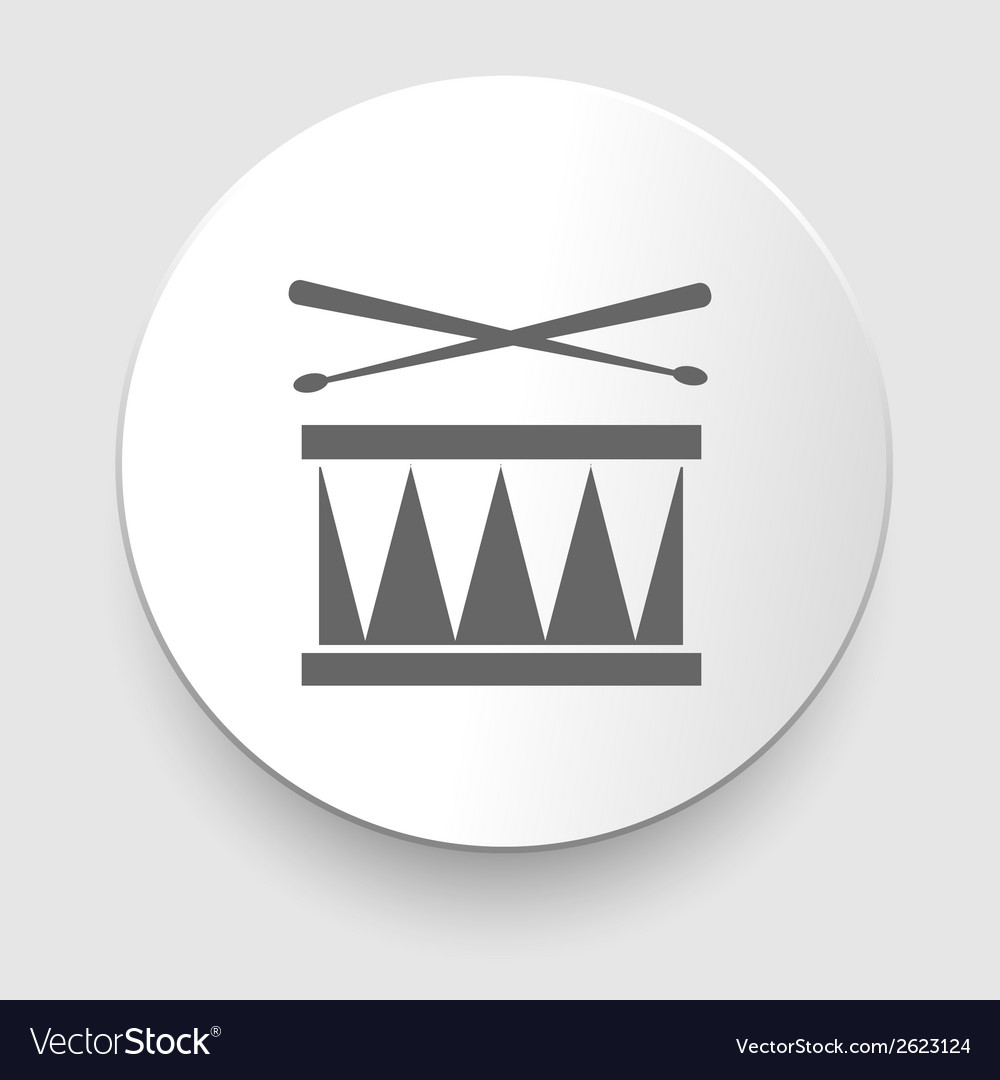 Snare drum icon vector | Price: 1 Credit (USD $1)