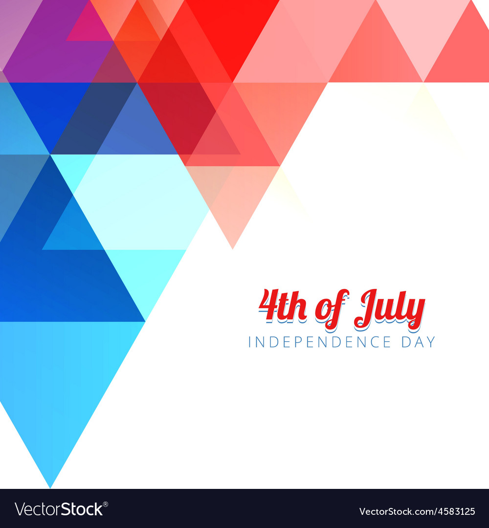 American 4th of july background vector | Price: 1 Credit (USD $1)