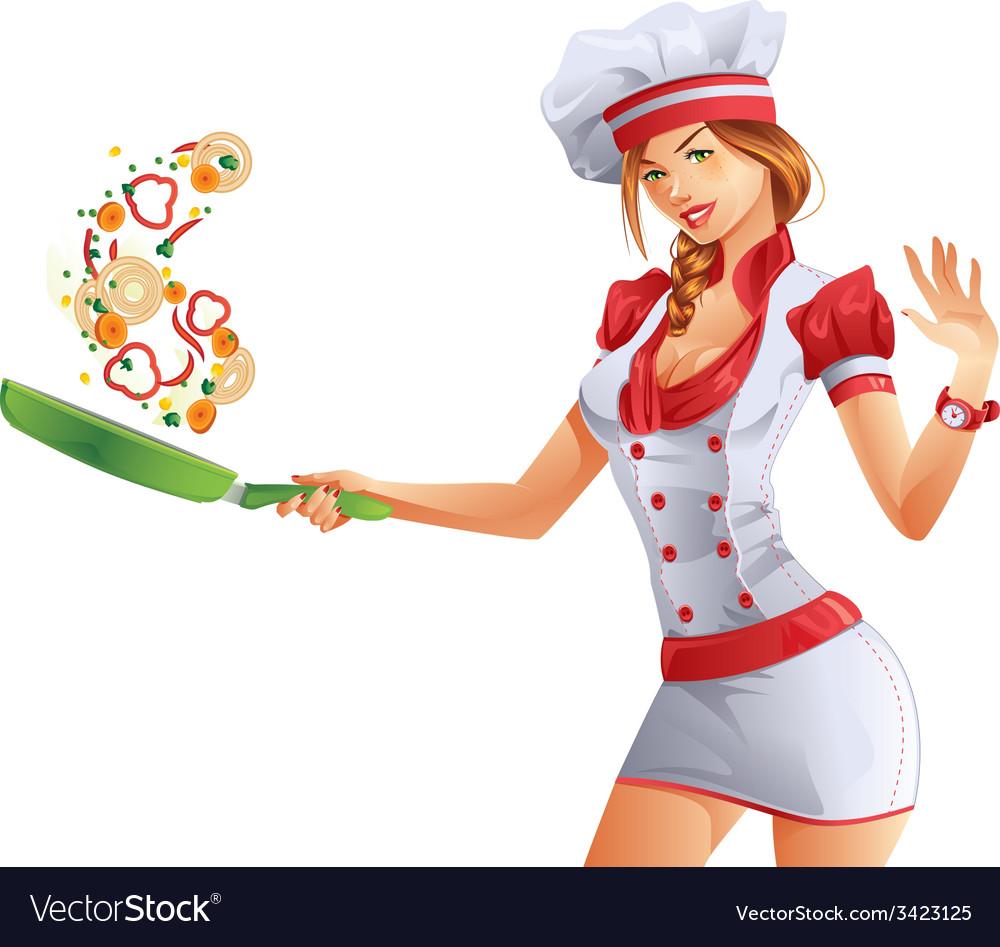 Cute cook vector   Price: 3 Credit (USD $3)