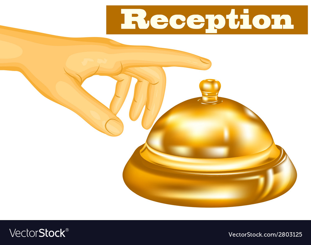 Hotel receptionist vector | Price: 1 Credit (USD $1)
