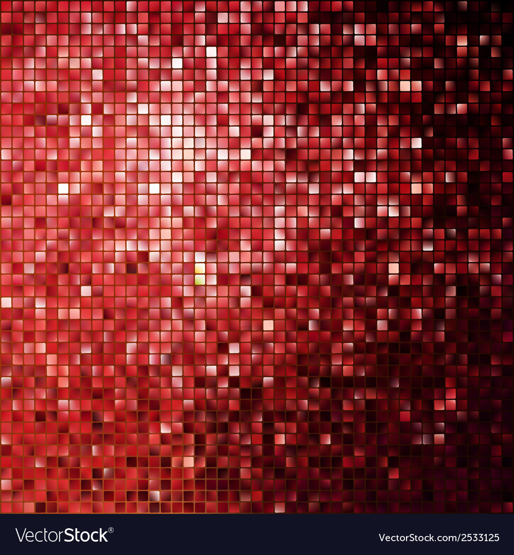 Red glitters on a soft blurred eps 10 vector | Price: 1 Credit (USD $1)