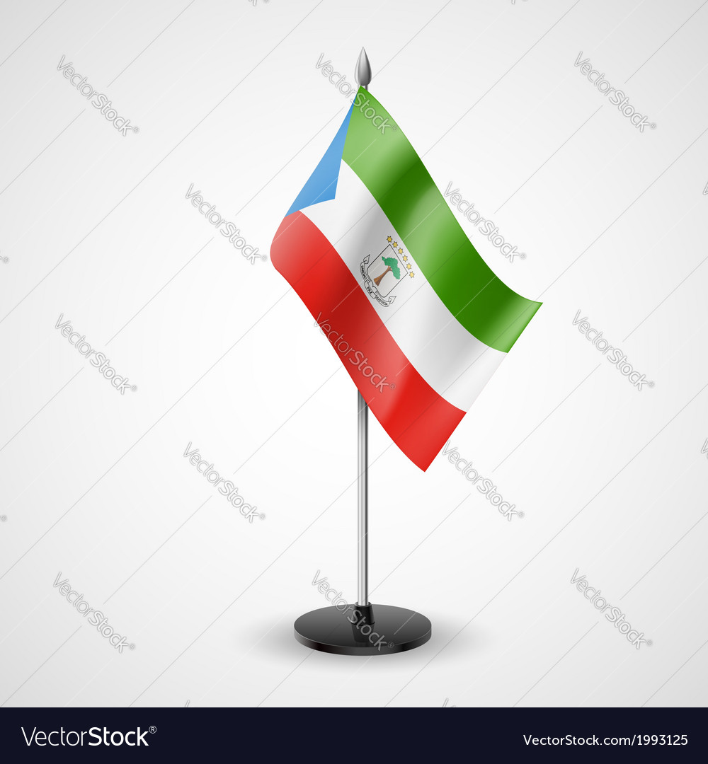 Table flag of equatorial guinea vector | Price: 1 Credit (USD $1)