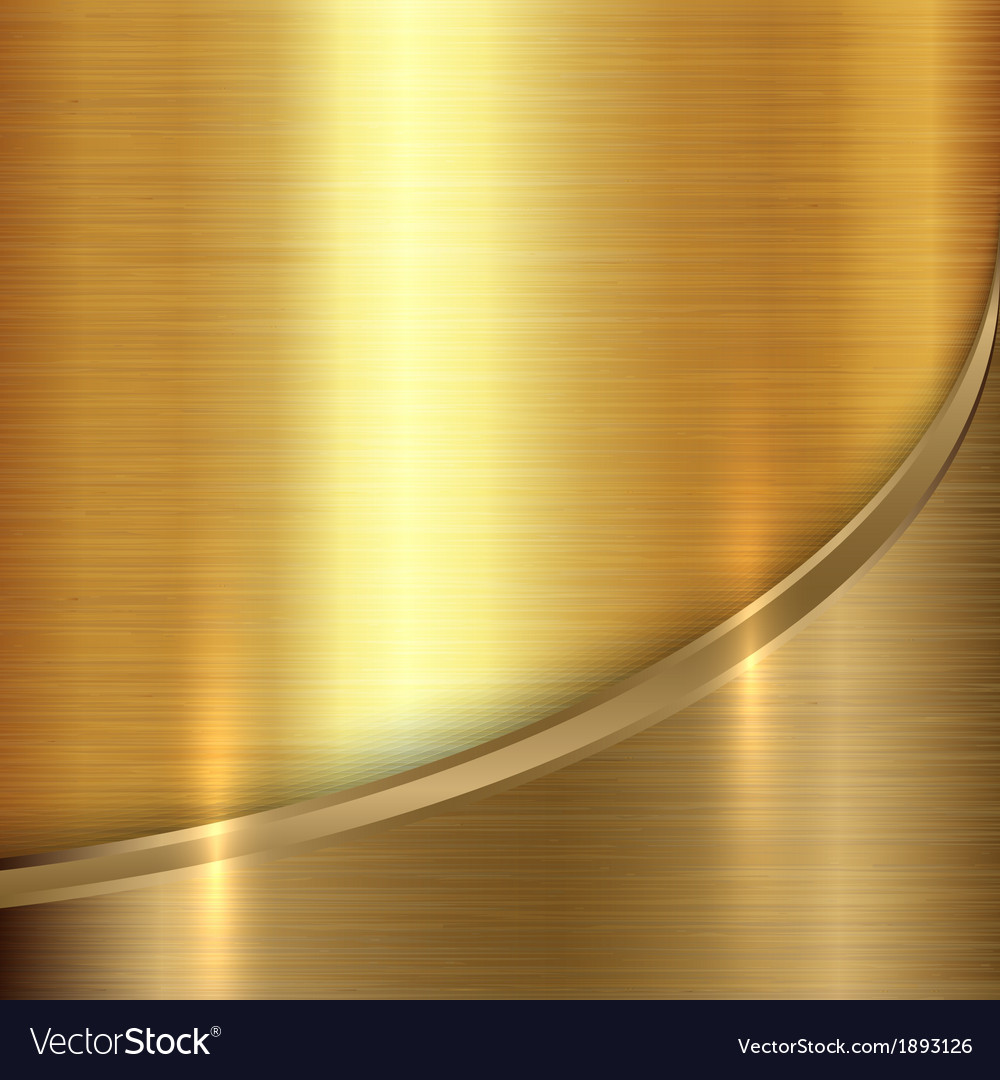 Abstract precious metal background with curve vector | Price: 1 Credit (USD $1)