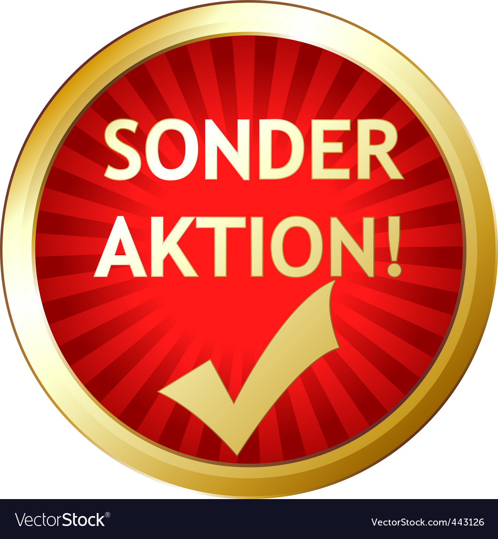 Sonder aktion vector | Price: 1 Credit (USD $1)