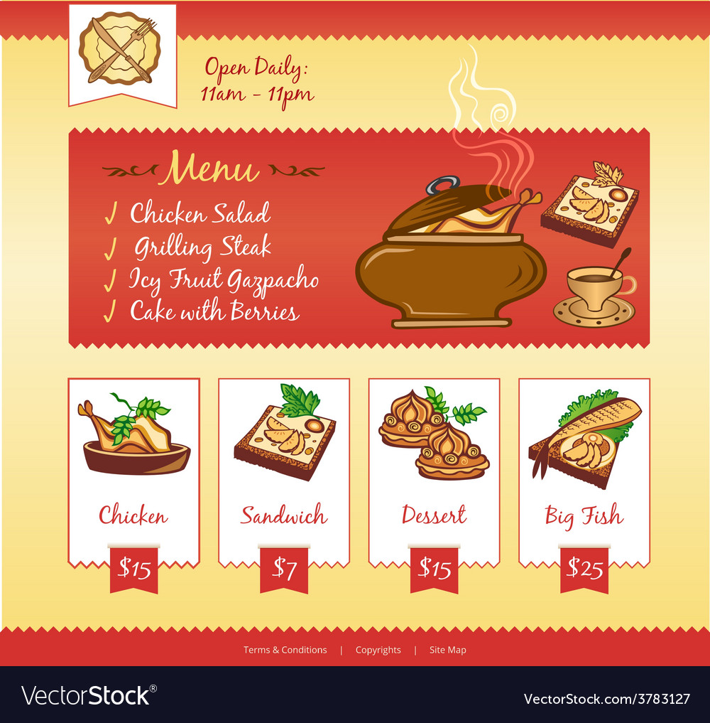 Food web template vector | Price: 3 Credit (USD $3)