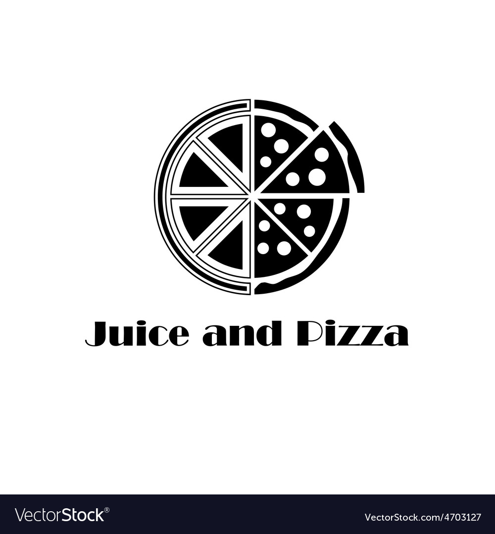 Juice and pizza concept vector   Price: 1 Credit (USD $1)