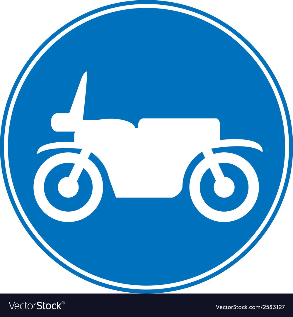 Motorcycle button vector | Price: 3 Credit (USD $3)