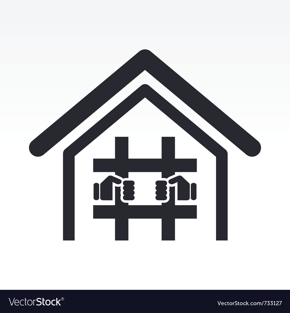 Prison icon vector | Price: 1 Credit (USD $1)