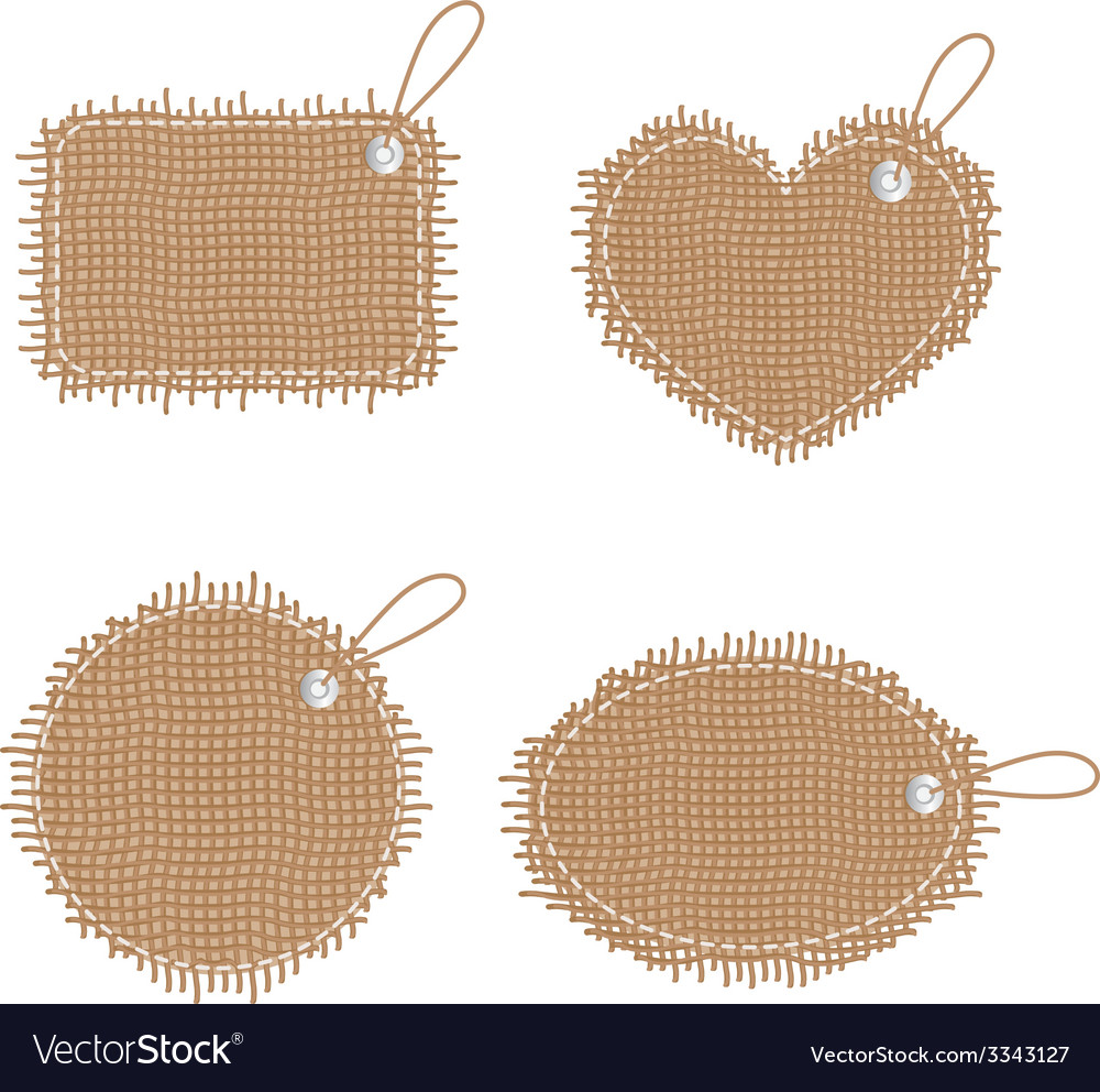 Sacking labels vector | Price: 1 Credit (USD $1)