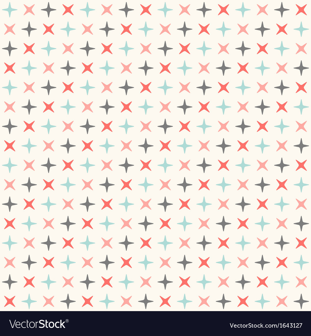 Seamless modern geometric polka rhombus pattern vector | Price: 1 Credit (USD $1)