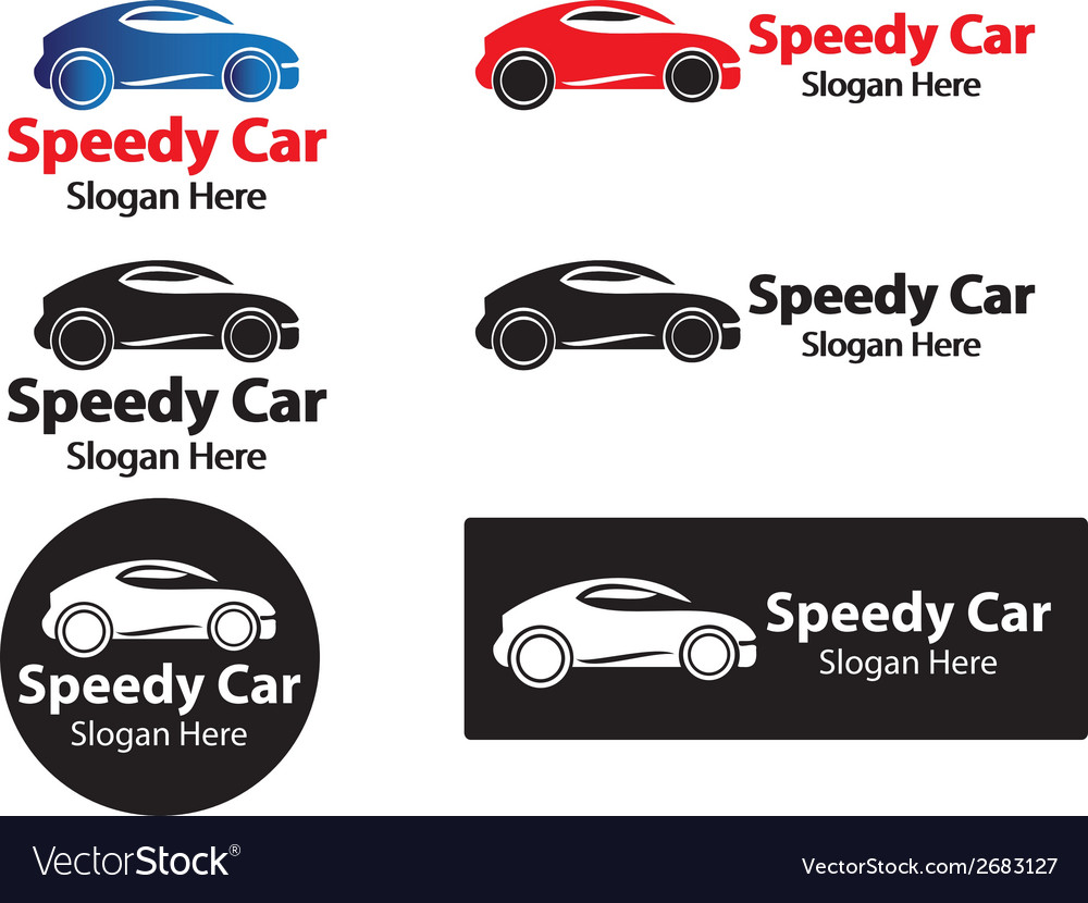 Speedy car vector | Price: 1 Credit (USD $1)
