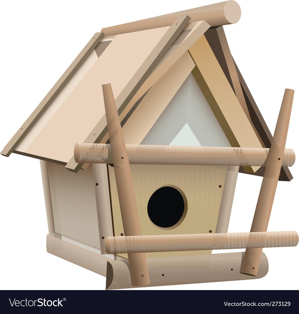 Bird house vector | Price: 3 Credit (USD $3)