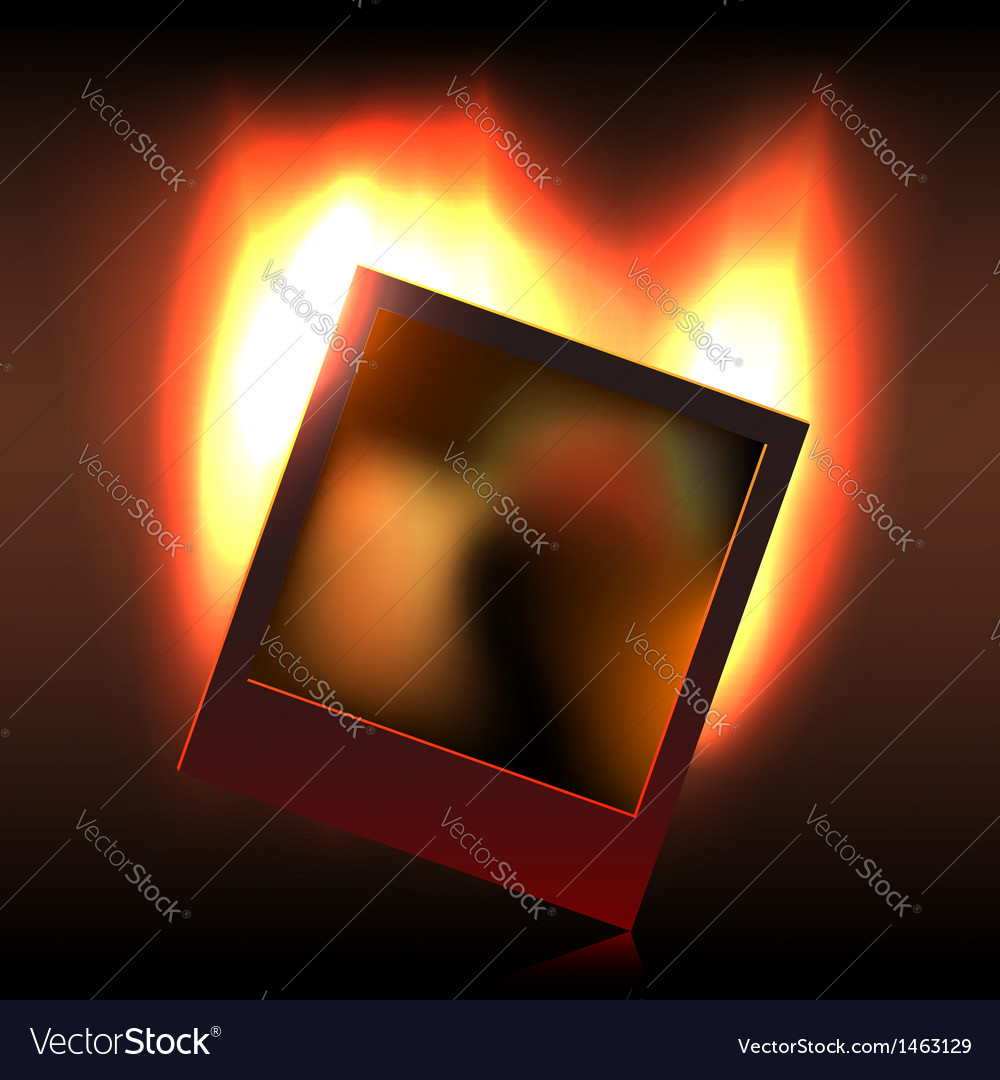 Burning memory in foto vector | Price: 1 Credit (USD $1)