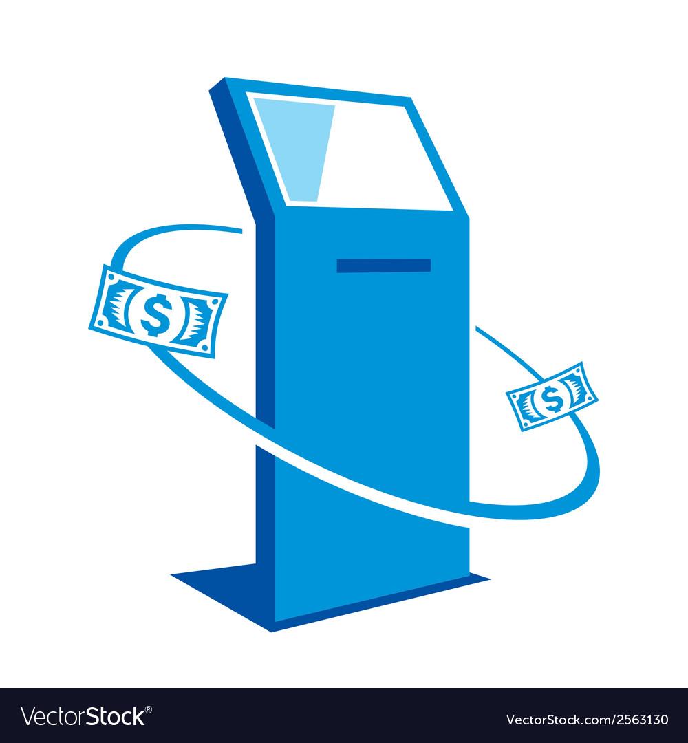 Payment terminal sign vector | Price: 1 Credit (USD $1)