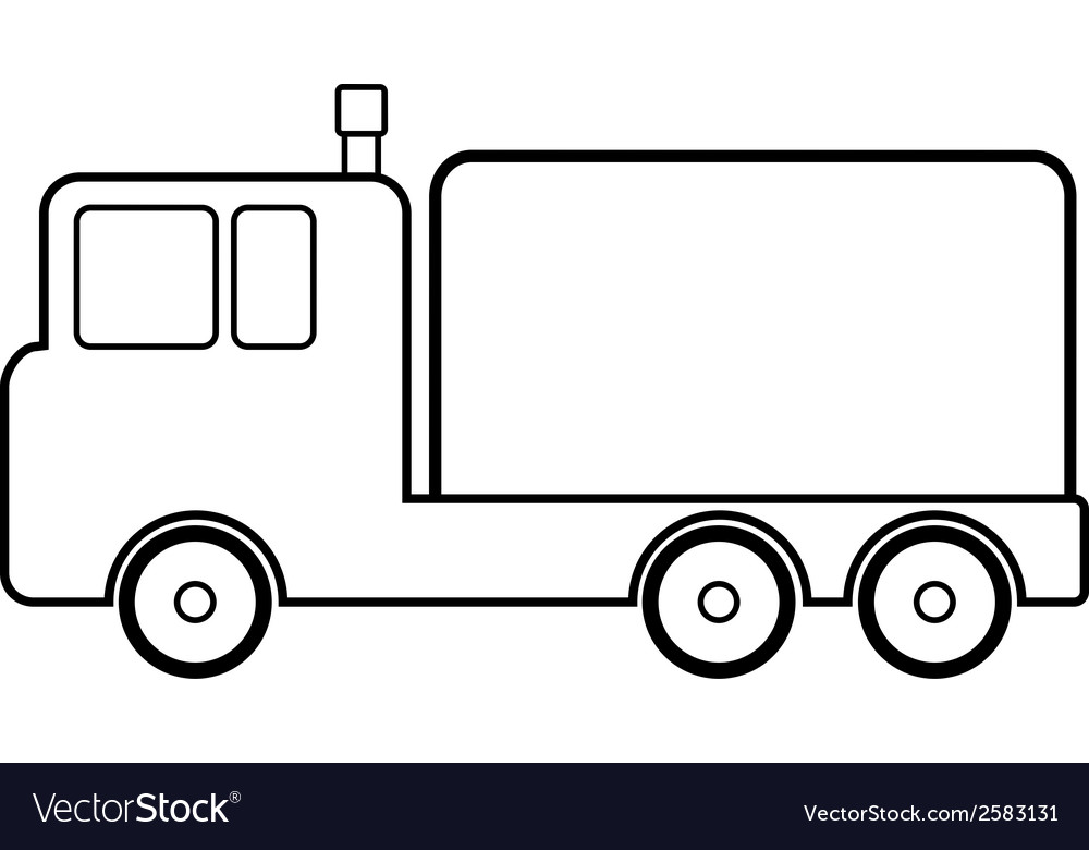 Cargo car icon vector | Price: 3 Credit (USD $3)