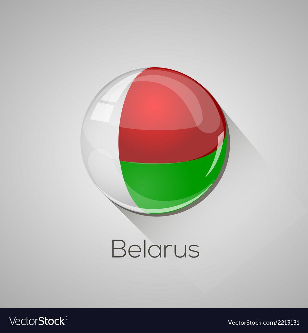 European flags set - belarus vector | Price: 1 Credit (USD $1)